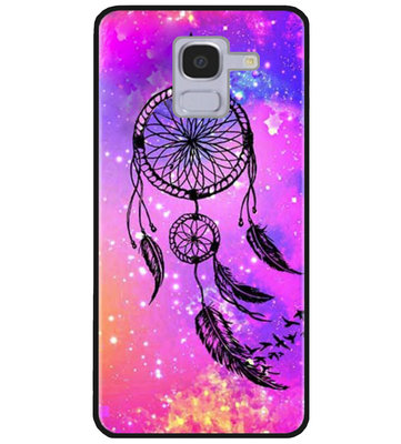 ADEL Siliconen Back Cover Softcase Hoesje voor Samsung Galaxy J6 Plus (2018) - Dromenvanger
