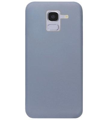 ADEL Premium Siliconen Back Cover Softcase Hoesje voor Samsung Galaxy J6 Plus (2018) - Lavendel