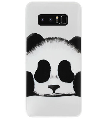 ADEL Siliconen Back Cover Softcase Hoesje voor Samsung Galaxy Note 8 - Panda