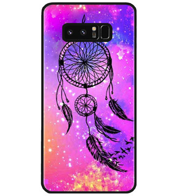 ADEL Siliconen Back Cover Softcase Hoesje voor Samsung Galaxy Note 8 - Dromenvanger