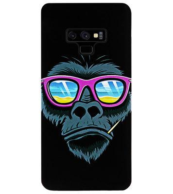 ADEL Siliconen Back Cover Softcase Hoesje voor Samsung Galaxy Note 9 - Gorilla Apen