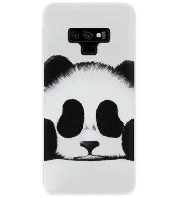ADEL Siliconen Back Cover Softcase Hoesje voor Samsung Galaxy Note 9 - Panda