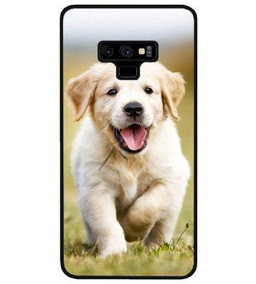 ADEL Siliconen Back Cover Softcase Hoesje voor Samsung Galaxy Note 9 - Labrador Retriever Hond