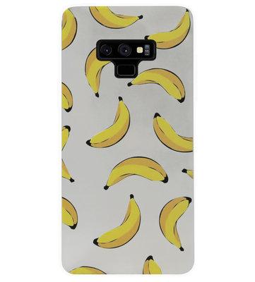 ADEL Siliconen Back Cover Softcase Hoesje voor Samsung Galaxy Note 9 - Bananen Geel