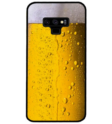ADEL Siliconen Back Cover Softcase Hoesje voor Samsung Galaxy Note 9 - Pils Bier