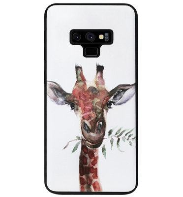 ADEL Siliconen Back Cover Softcase Hoesje voor Samsung Galaxy Note 9 - Giraf