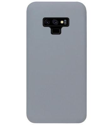 ADEL Siliconen Back Cover Softcase Hoesje voor Samsung Galaxy Note 9 - Grijs