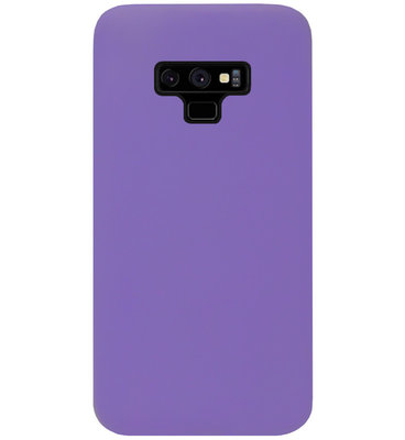 ADEL Siliconen Back Cover Softcase Hoesje voor Samsung Galaxy Note 9 - Paars