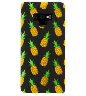 ADEL Siliconen Back Cover Softcase Hoesje voor Samsung Galaxy Note 9 - Ananas