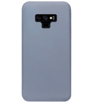 ADEL Premium Siliconen Back Cover Softcase Hoesje voor Samsung Galaxy Note 9 - Lavendel