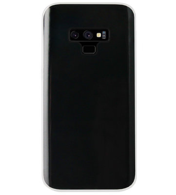 ADEL Siliconen Back Cover Softcase Hoesje voor Samsung Galaxy Note 9 - Doorzichtig Transparant