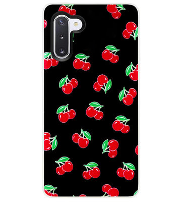 ADEL Siliconen Back Cover Softcase Hoesje voor Samsung Galaxy Note 10 - Fruit
