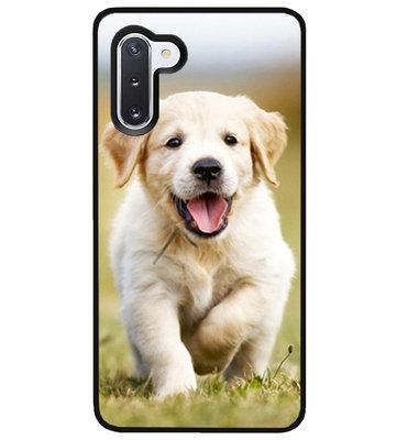 ADEL Siliconen Back Cover Softcase Hoesje voor Samsung Galaxy Note 10 - Labrador Retriever Hond