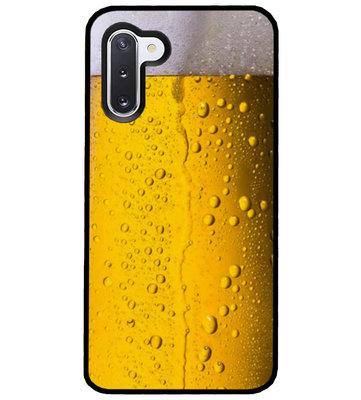 ADEL Siliconen Back Cover Softcase Hoesje voor Samsung Galaxy Note 10 - Pils Bier