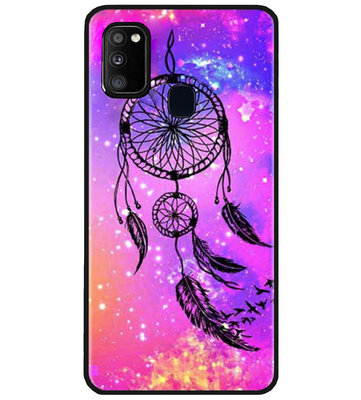 ADEL Siliconen Back Cover Softcase Hoesje voor Samsung Galaxy M30s/ M21 - Dromenvanger
