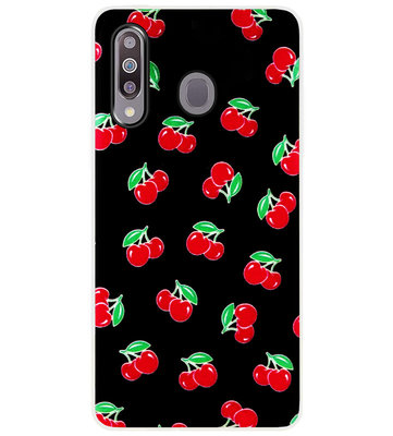ADEL Siliconen Back Cover Softcase Hoesje voor Samsung Galaxy M30 - Fruit