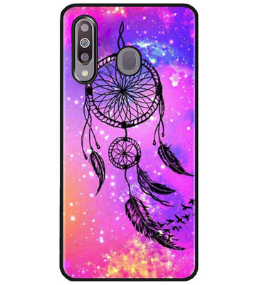 ADEL Siliconen Back Cover Softcase Hoesje voor Samsung Galaxy M30 - Dromenvanger