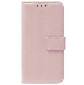 ADEL Kunstleren Book Case Pasjes Portemonnee Hoesje voor Samsung Galaxy S10 - Goud Rose